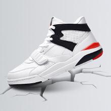 板鞋健跑复古白色运动板鞋时尚高帮