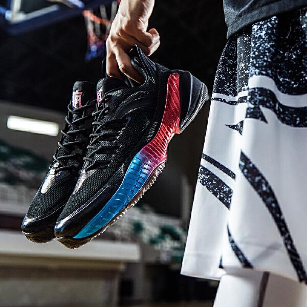 安踏男子篮球鞋11831110R