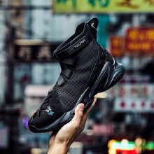 玩家1代篮球鞋魔术贴男鞋要疯篮球潮流文化鞋男