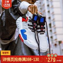 【新霸道】运动鞋男女鞋情侣鞋2019新款潮板鞋�休闲鞋