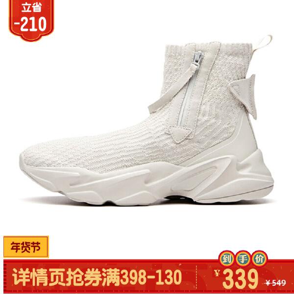 安踏生活系列冬季女子休闲鞋12848881