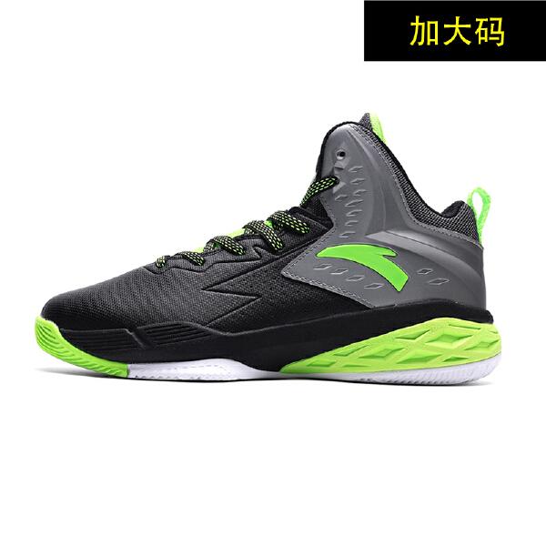 安踏 篮球系列 男子高帮加大码篮球鞋-14631305