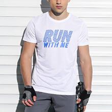 男子吸湿排汗跑步运动短T