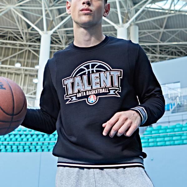 安踏 篮球系列 男子套头卫衣-15711703