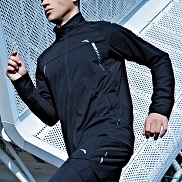 安踏 跑步系列 男子防泼水单风衣-15715610