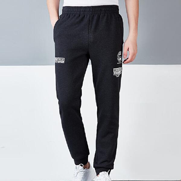 安踏 综训系列 男子轻盈挺括针织运动长裤-15717757