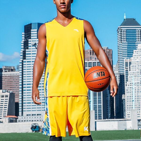 安踏 篮球系列 男子透气篮球比赛套-15721201