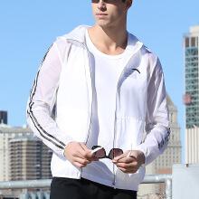 连帽修身时尚开衫单茄克运动外套上衣运动服男