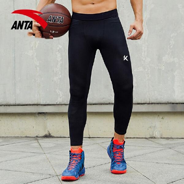 安踏 篮球系列 男子针织九分裤-15731761