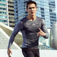 健身衣训练跑步学生吸汗运动长袖男