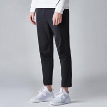 运动裤男梭织九分裤男潮款运动小脚裤
