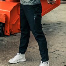 梭织运动长裤时尚收口小脚裤休闲裤