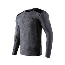 紧身衣男装跑步健身运动健身服长袖