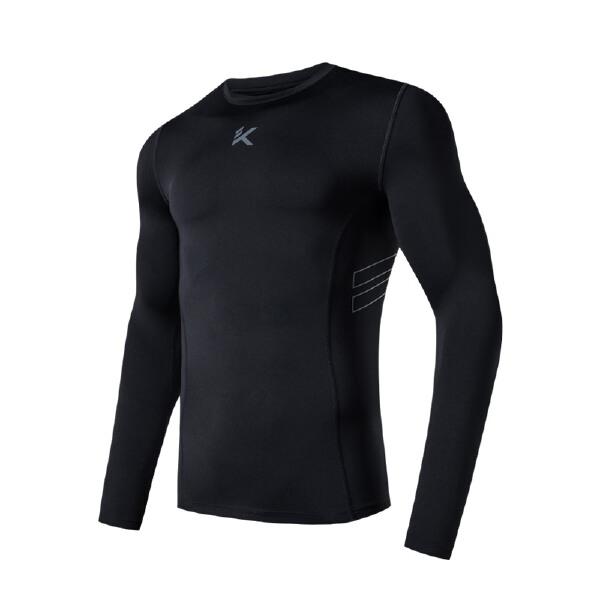安踏 篮球系列 男子吸湿速干长袖针织衫-15811431