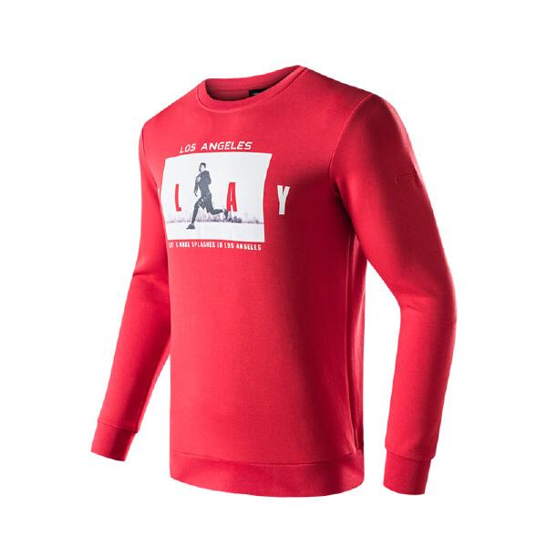 安踏 篮球系列 男子动型科技套头卫衣-15811727