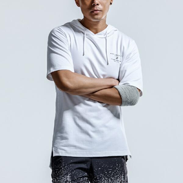 安踏 篮球系列 男子短袖连帽针织衫-15821161
