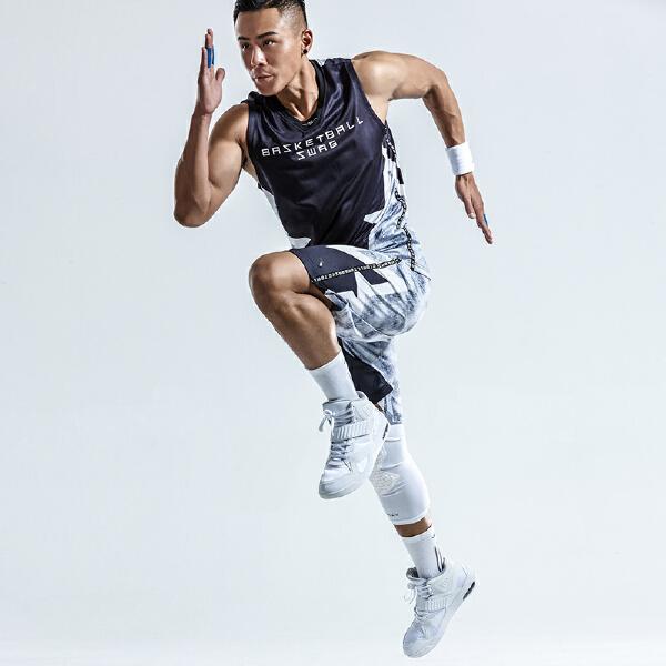 安踏 篮球系列 男子吸湿速干篮球比赛套-15821202