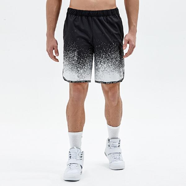 安踏 篮球系列 男子吸湿速干梭织短裤-15821301