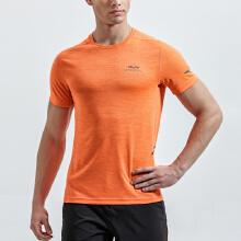 安踏短袖男舒适透气运动排汗跑步短袖男