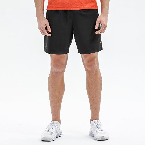 安踏 跑步系列 男子吸湿速干梭织短裤-15825302