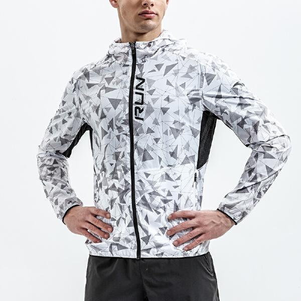 安踏 跑步系列 男子单风衣-15825611