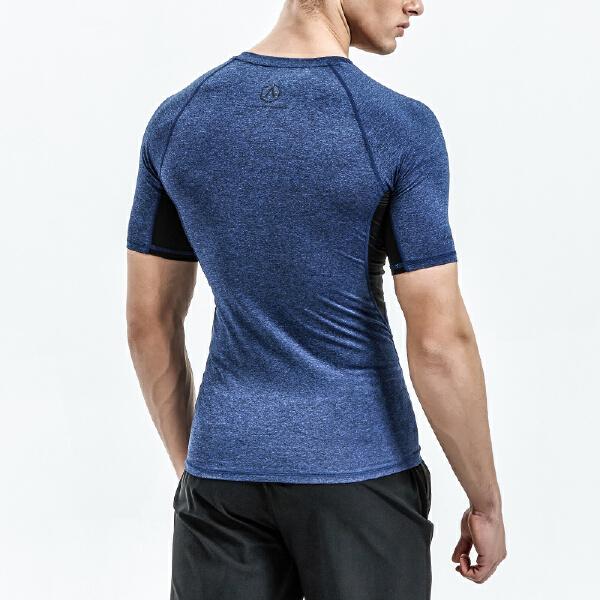 安踏 综训系列 男子吸湿速干短袖针织衫-15827180