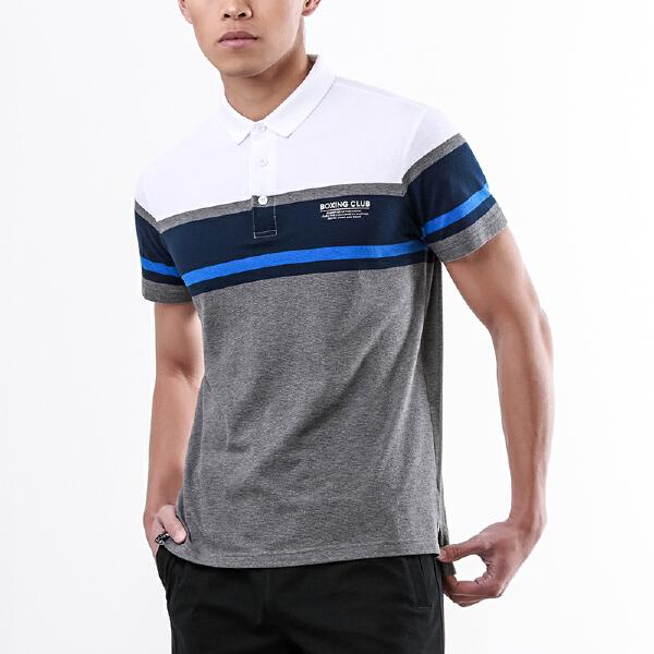 安踏 搏击系列 男子短袖POLO衫-15829112