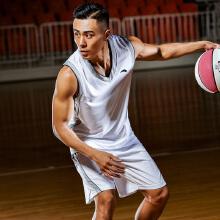 安踏篮球套装男 2019春夏季新款篮球比赛服套装上衣 短裤15831203