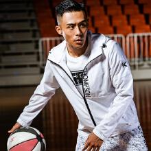 安踏外套男 2019春季新款篮球系列休闲男装运动服男风衣外套 正品