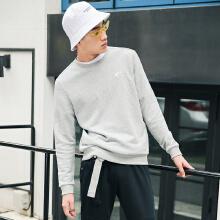 安踏卫衣男 2019春季新款潮流运动套头衫运动休闲男子打底衫男装
