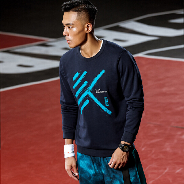 安踏篮球系列冬季男子套头卫衣15841717