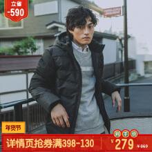 安踏羽绒服男子潮流运动保暖羽绒服棉服官方旗舰店