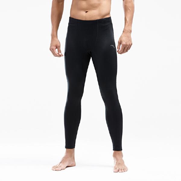 安踏跑步系列冬季男子针织九分裤15845740