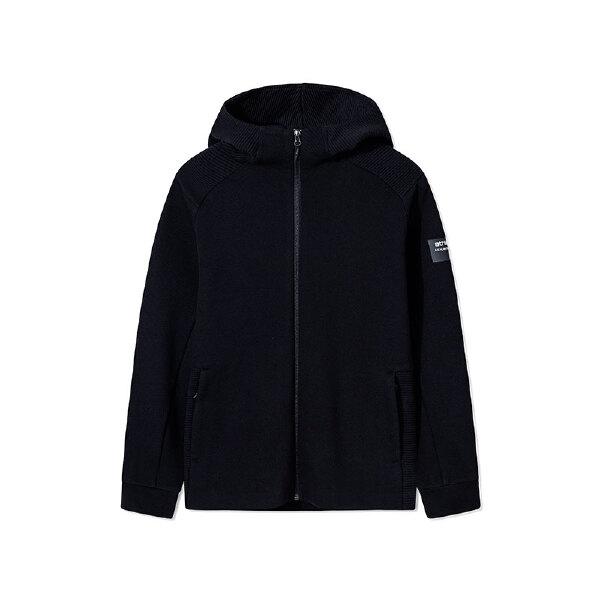安踏综训系列冬季男子连帽针织运动上衣15847739