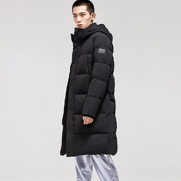 安踏综训系列冬季男子中长羽绒风衣15847979