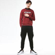 安踏卫衣男 2019春季新款套头衫 针织衫男装上衣长袖T恤15849718