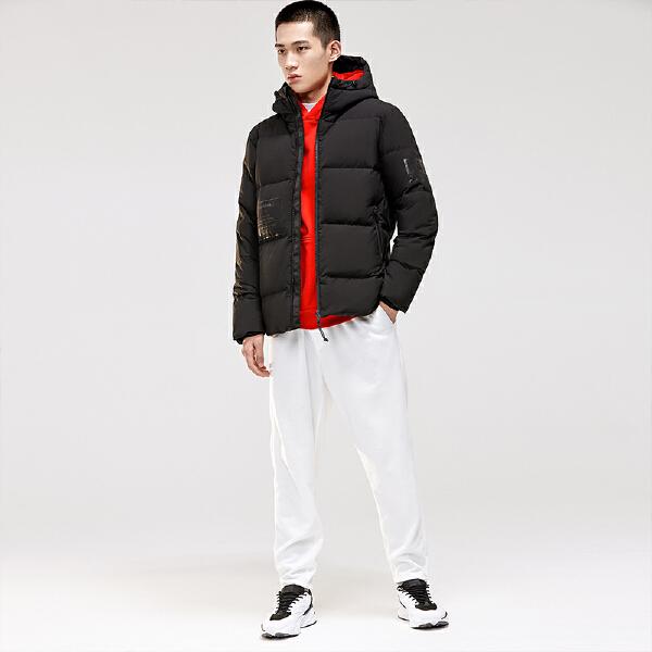 安踏搏击系列冬季男子羽绒风衣15849911