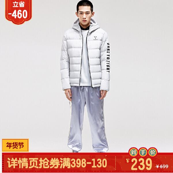 安踏搏击系列冬季男子羽绒茄克15849945