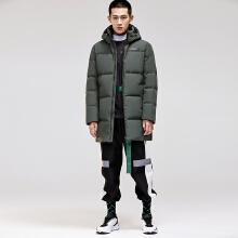安踏男中长款风衣外套 2018冬季新款保暖加厚运动羽绒服15849971