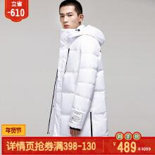 安踏男装加厚保暖运动服羽绒服15849973