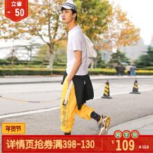 男T恤2019春新款汤普森KT商场同款棉短袖男官网正品15911144
