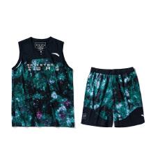 安踏篮球套男2019春夏新款静水流深满印迷彩篮球比赛套男15911202