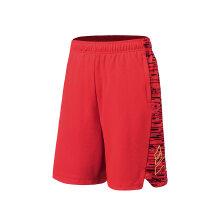 安踏男短裤2019新款红色健身跑步运动休闲篮球裤短裤五分15911205