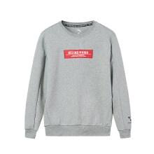 安踏卫衣男2019春季新款国潮刺绣款运动卫衣男套头15919702