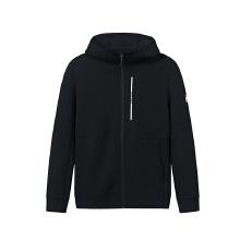 安踏外套男2019春季新款帕奎奥系列针织连帽运动外套男装15919717