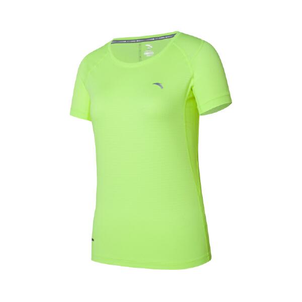 安踏 跑步系列 女子吸湿速干跑步运动短T-16625145