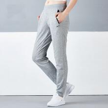 安踏女裤 新品舒适修身运动裤女 针织长裤修身女裤16717760