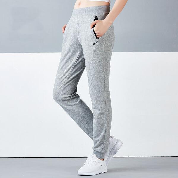 安踏 综训系列 女子吸湿排汗针织运动长裤-16717760