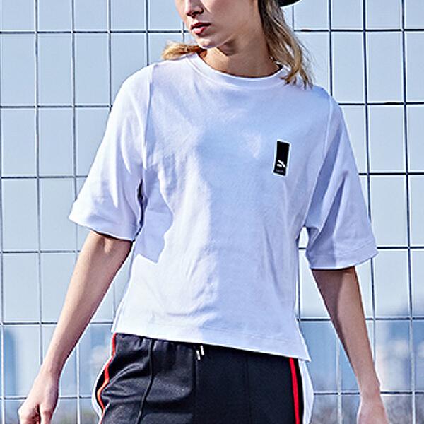 安踏 生活系列 女子时尚潮流短袖针织衫-16738155
