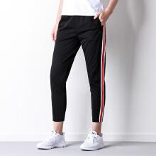 安踏运动裤女 九分裤裤子女针织运动长裤